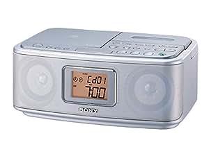 ソニー SONY CDラジオカセットレコーダー CFD-E501 : FM/AM対応 シルバー CFD-E501 S