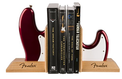 Fender ライフスタイル Bass Body Bookends, Red