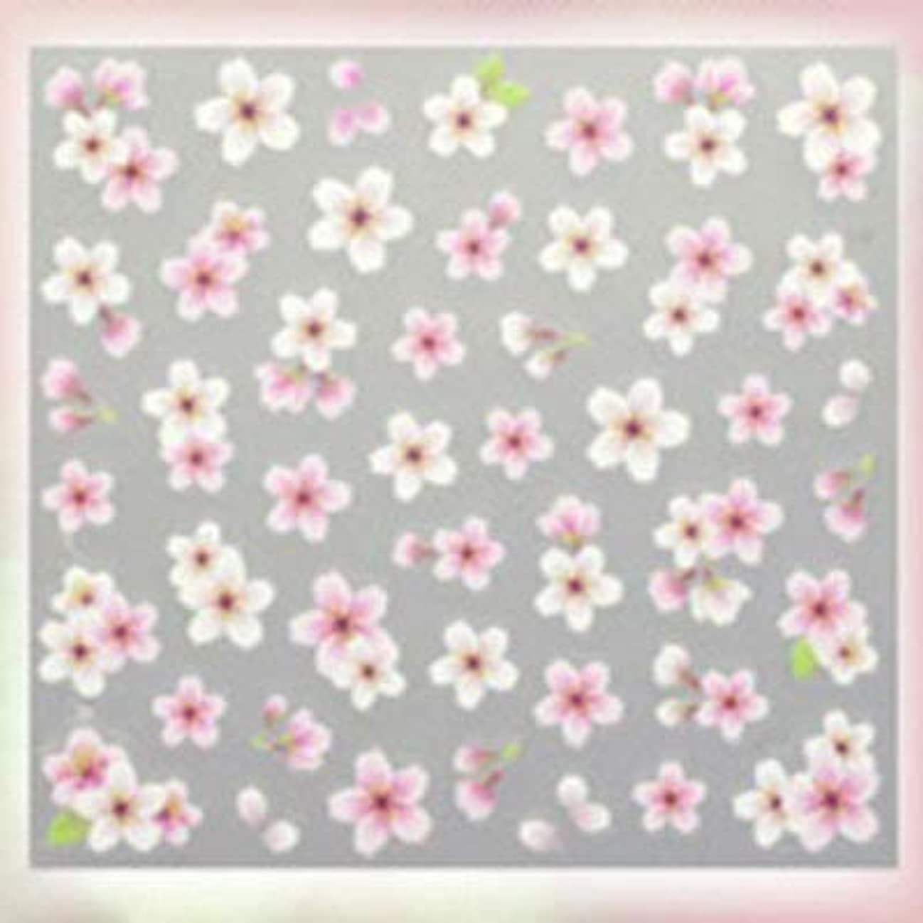 入浴家以前はSHAREYDVA ネイルシール 桜 ライトピンク