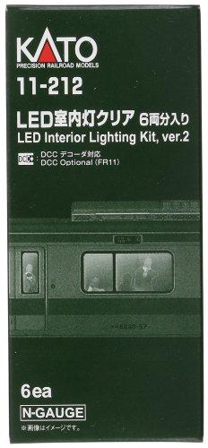 Nゲージ 11-212 LED室内灯クリア 6両分入