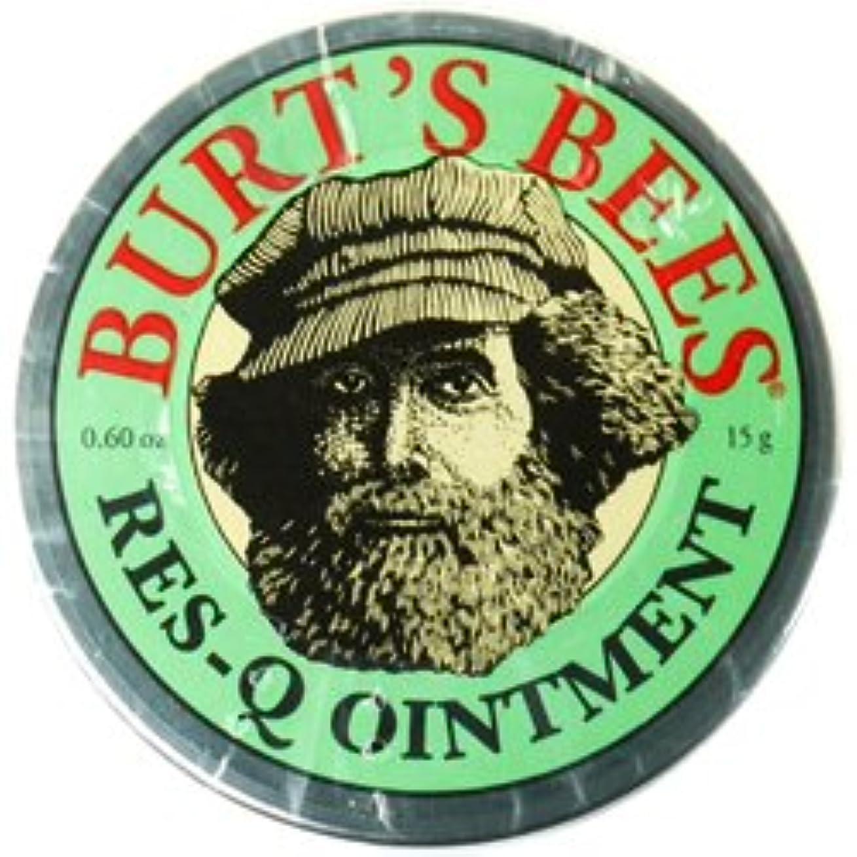 満州気になる狂気バーツビーズ Burts Bees レスキュー オイントメント 15g 【並行輸入品】