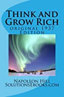Think and Grow Rich (An Original 1937 Edition) [並行輸入品]
