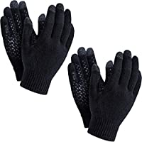 TESLA Smart Touch-Screen Winter Anti Slip Smart Phone Compatible Magic Gloves (Pack of 1, 2)