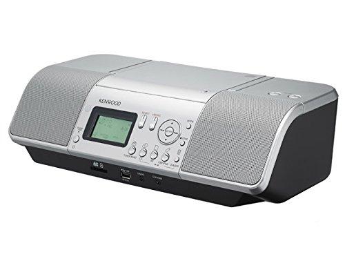 ケンウッド CLX-30 CDプレーヤー/パーソナルオーディオシステム CD/SD/USB シルバー CLX-30-S