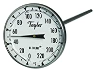 Taylor Precision Products Superior Grade Thermometer (5.1cm Dial)