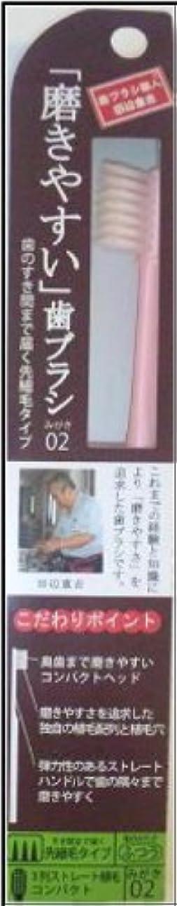 タイピストアラート財政磨きやすい歯ブラシ(先細) 1P*12本入り