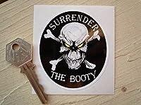 Rockers Surrender The Booty Skull & Crossbone Pirate Sticker ロッカーズ スカル クロスボーン ステッカー シール デカール カーステッカー 145mm × 165mm [並行輸入品]
