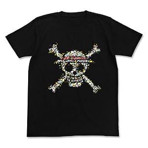 ワンピース 麦わらドクログラフィックTシャツ ブラック サイズ:XL