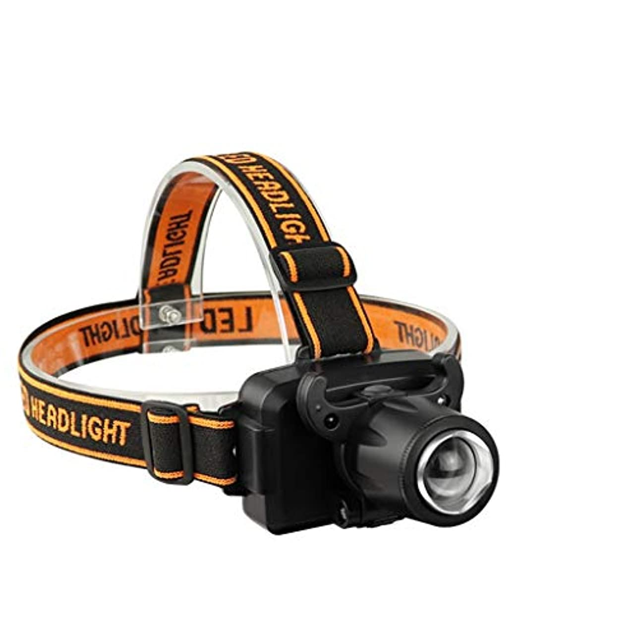 ヘッドライト ランニングキャンプハイキング釣り用ヘッドライト懐中電灯スーパーブライトロングレンジ充電ヘッドマウント誘導ライト led ヘッドライト