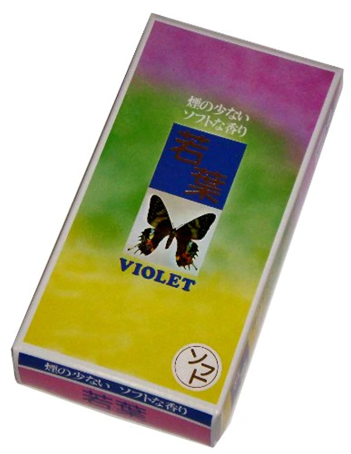 気づく複雑でない音大発のお線香 ソフト若葉 YS-1