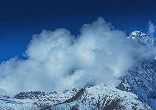 A1 |エベレストのポスターアートプリント60×90センチメートル180gsmネパール壁の装飾の#14265