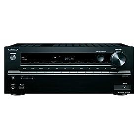 ONKYO AVレシーバー 7.1ch Dolby Atmos/DTS:X/4K/HDCP2.2/ハイレゾ音源対応 ブラック TX-NR646(B)