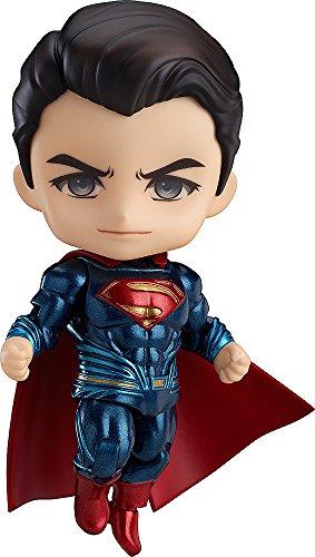 【Amazon.co.jp限定】ねんどろいど バットマン vs スーパーマン ジャスティスの誕生 スーパーマン ジャスティス・エディション 特典背景シート封入