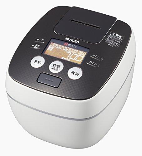 タイガー 炊飯器 5.5合 圧力 IH クールホワイト 炊きた...