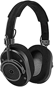 Master & Dynamic MH40 Wired Headphones with Genuine Lambskin Ear Pads, Gunmetal/Alcan