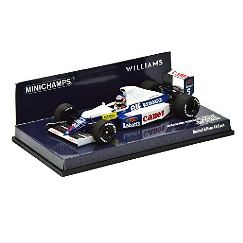 【デカール加工品】 ミニチャンプス MINICHAMPS 1/43スケール ウィリアムズ ルノー FW13B No.5/1991 F1 テストセッション ナイジェル?マンセル