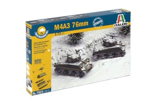 イタレリ 7521 1/72 M4A3 76mm