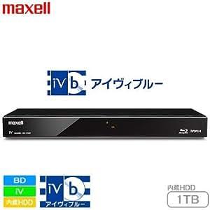 maxell アイヴィブルー  1TB 2チューナー ブルーレイレコーダー BIV-R1021 C