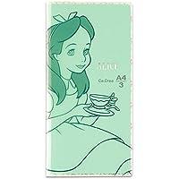 プラス メモ帳 ノート カ.クリエ A4×1/3 限定 ディズニー アリス 77-982