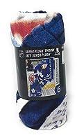 """NHLブランケット - オースティン・マシューズ・トロント・メープル・リーフス・スロー・ブランケット - 46""""x 60"""""""