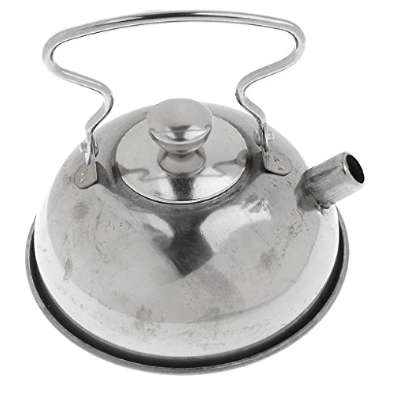 Perfk 子供ステンレスキッチン調理器具おもちゃ 幼児の早期教育 能力開発 指先の調整能力 銀 紅茶ケトル