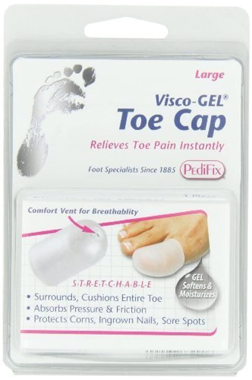 しっかり見つける評論家足指保護キャップ ジェル製(P80-XL)