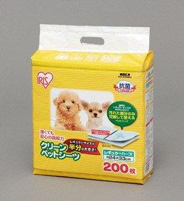 アイリスオーヤマ クリーンペットシーツ レギュラーハーフサイズ NS-200RH 200枚