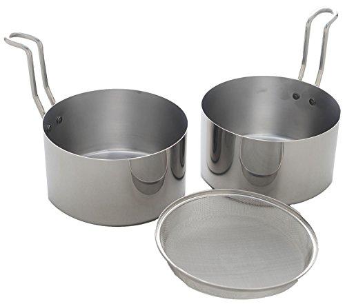 取っ手も場所を取らない 油(ユウ)ターン 揚げ鍋・オイルポット兼用 1個 アーネスト
