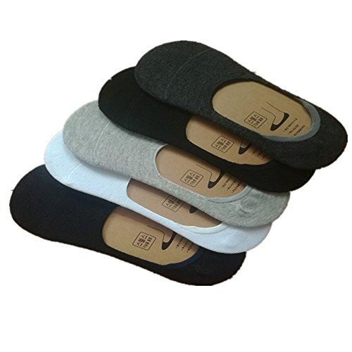 インビジブルソックス メンズ靴下 抗菌防...