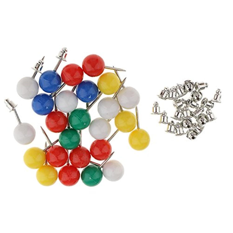 SONONIA 約25個入り セット カラフル 固定袋 金属フレーム 縫製クラフト 位置針 DIY ハンドバッグ 財布 ピン ステンレス鋼 プラスチック 便利ツール
