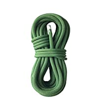 クライミングロープ ザ 屋外登山用ロープ、安全ロープ用クライミングロープ、ライフライン用ロープ安全ロープ、8 mm現場用サバイバル機器用緊急ロープ - グリーン (サイズ さいず : 20m)