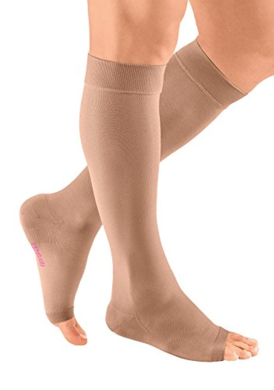 布やけど財団mediven plus Compression Stockings 20-30 EW Calf Open Toe Beige III by Medi