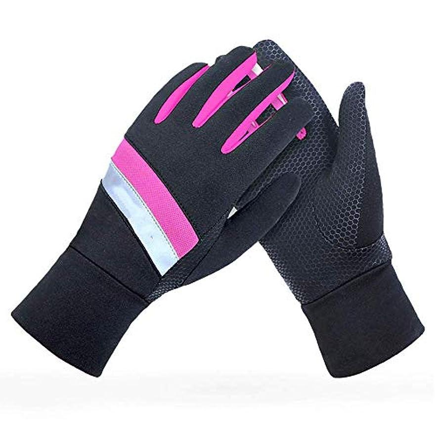 紀元前軽蔑法律屋外の秋と冬のフリースの登山オフロードの男性と女性の風防の暖かいタッチスクリーンスポーツの手袋を実行