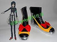 COSLIFE 境界線上のホライゾン ほんだ・まさずみ コスプレ靴 cosplay コス 靴 ブーツ 下駄 ハイヒール シューズ (24cm)