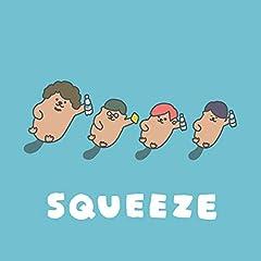 ポルカドットスティングレイ「SQUEEZE」のジャケット画像