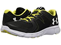 [アンダーアーマー] Under Armour メンズ UA Thrill 2 スニーカー Black/Smash Yellow/White US15(33cm) - D - Medium [並行輸入品]