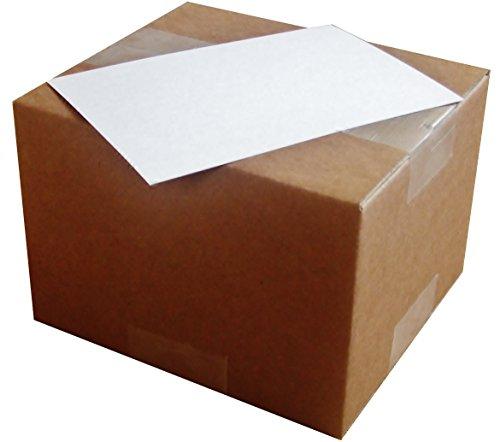 ふじさん企画 【超特厚/厚手タイプ】両面無地ハガキサイズ用紙 (148×100mm)大容量パック POST-MUJI