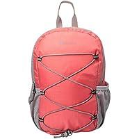 Mountain Warehouse Trek 8L Backpack - Padded Airmesh Back, Cute, Rucksack Small Bag, Lightweight Stylish Mini Backpack, Bottle Pocket -for Travelling, Festivals, Hiking