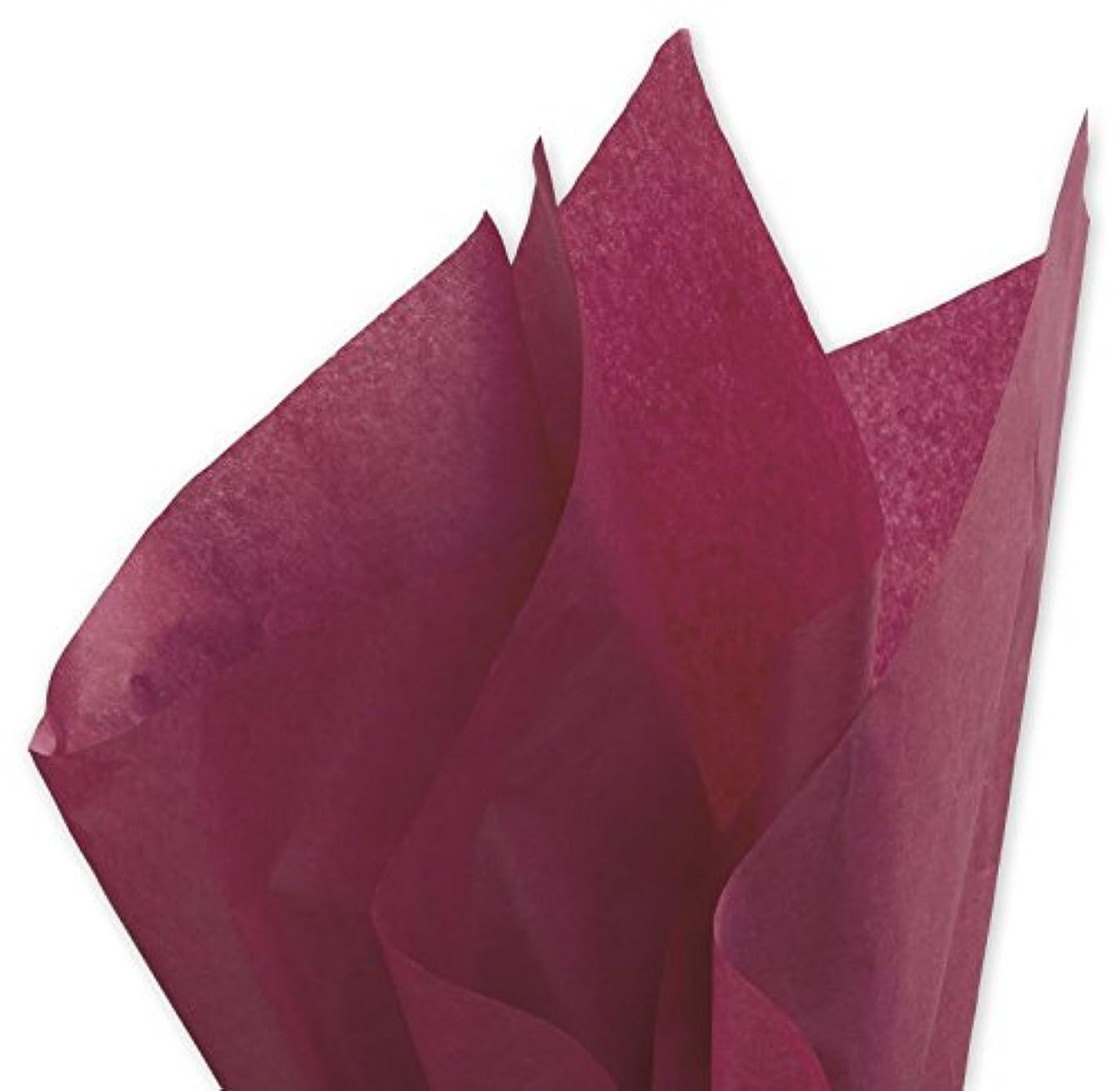 車両ボルト懐疑的DARK BURGUNDY Bulk Tissue Paper 15 x 20-100 Sheets by Buttons Bags and Bows