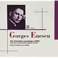 Georges Enescu: The Columbia Solo Recordings (1929) (2010-01-12)