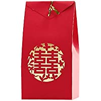 40セットのギフト装飾パッケージ中国のスタイルウェディングキャンディーペーパーボックス[A]