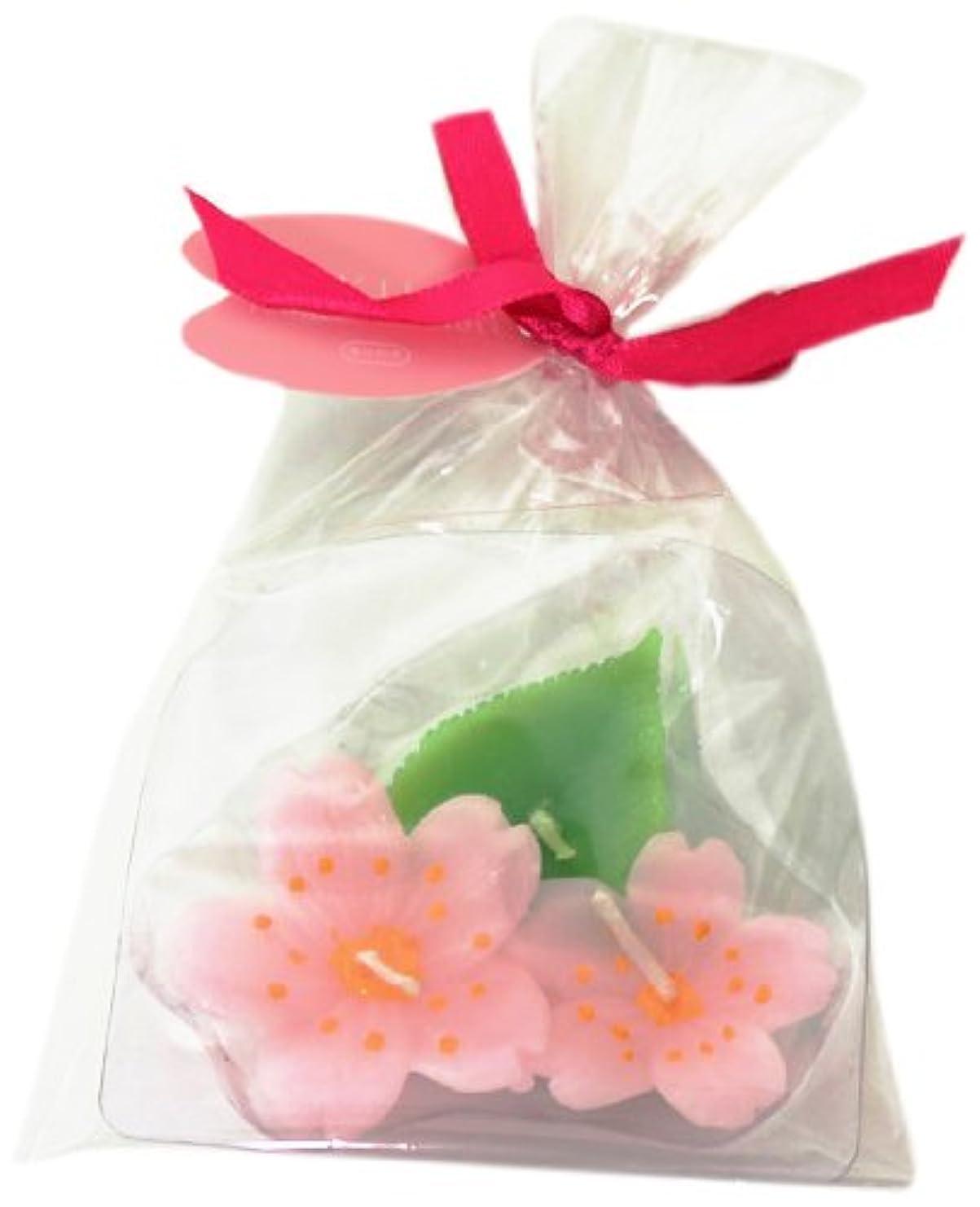 レザー摘む同封する桜葉かさね 「 ライトピンク 」