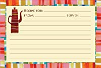 Meadowsweet Kitchens Recipe Card Set - Colorful Kitchen by Meadowsweet Kitchens