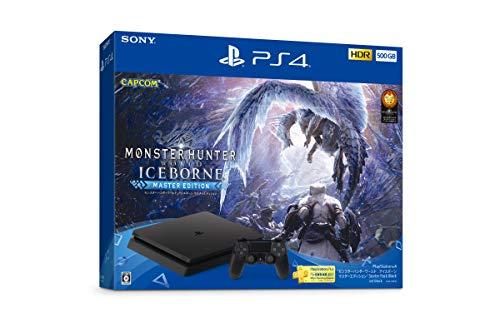 """PlayStation 4 """"モンスターハンターワールド: アイスボーンマスターエディション"""" Starter Pack Black"""