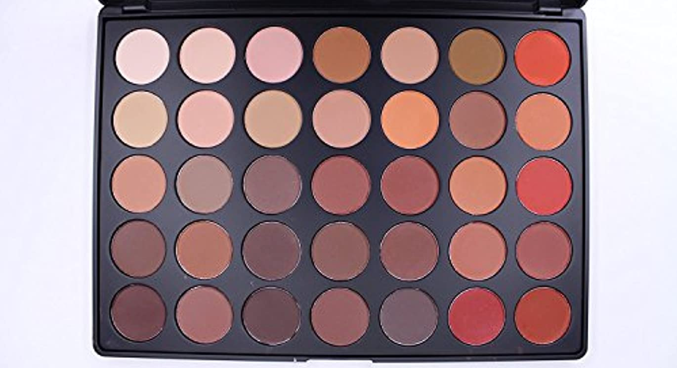 懸念手のひら森Morphe 35OM - 35 COLOR MATTE NATURE GLOW EYESHADOW PALETTE