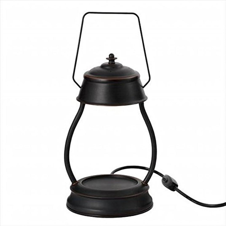 振動させるカフェ換気するkameyama candle(カメヤマキャンドル) ハリケーンキャンドルウォーマーランプ 「 ブラウン 」 キャンドル 164x155x345mm (J3570000BR)