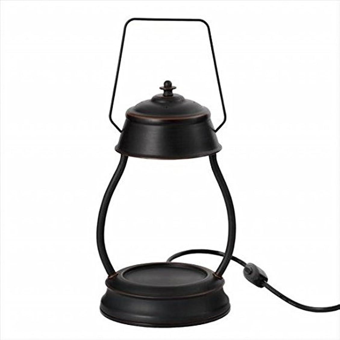 途方もないセクタキャップkameyama candle(カメヤマキャンドル) ハリケーンキャンドルウォーマーランプ 「 ブラウン 」 キャンドル 164x155x345mm (J3570000BR)