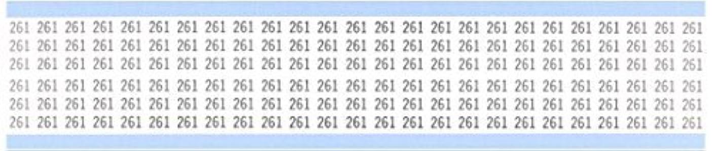 蒸留村鉄道駅Brady WM-261-PK Repositionable Vinyl Cloth (B-500) Black on White Solid Numbers Wire Marker Card (25 Cards) [並行輸入品]