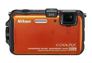 Nikon デジタルカメラ COOLPIX (クールピクス) AW100 サンシャインオレンジ AW100OR