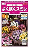 【種子】パンジー よく咲くスミレ ミックス 0.1ml